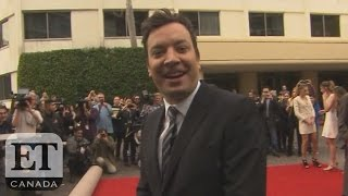 Jimmy Fallon Rolls Out The Red Carpet For The Golden Globes