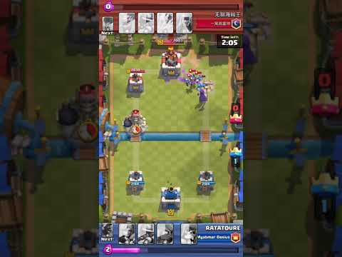 First Chinese hacker (cheater!!) in Clash Royal.