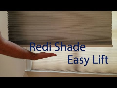 How to install a Redi Shade Easy Lift shade!