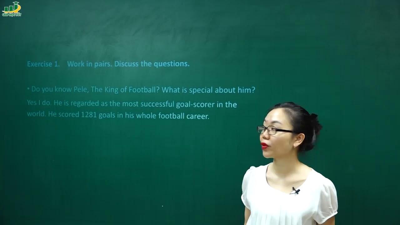Tiếng Anh lớp 6 –  Lesson 5 Skills 1 – trang 22 Unit 8 sports and games SGK tiếng anh 6 mới