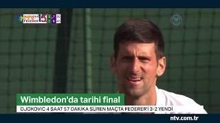 Wimbledon'da tarihi final