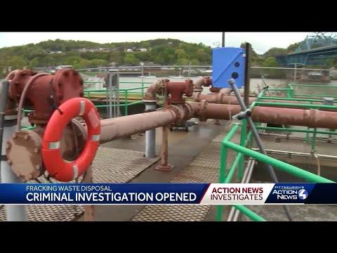Fracking waste disposal, criminal investigation opened in Belle Vernon
