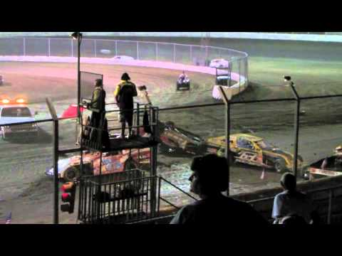 Kennedale Speedway Park Wreck