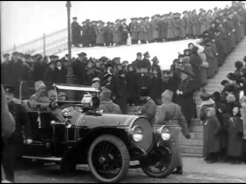 Царь Николай II в Хельсинки 1915 / Czar Nicholas II in Helsinki 1915