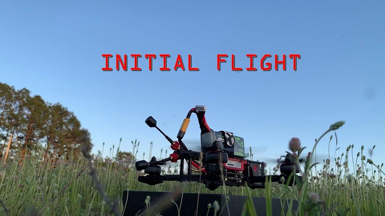 First Time Flying FPV(iFlight Titan DC5) картинки