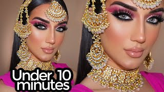 Indian | Bollywood | South Asian Bridal Makeup From Start To Finish