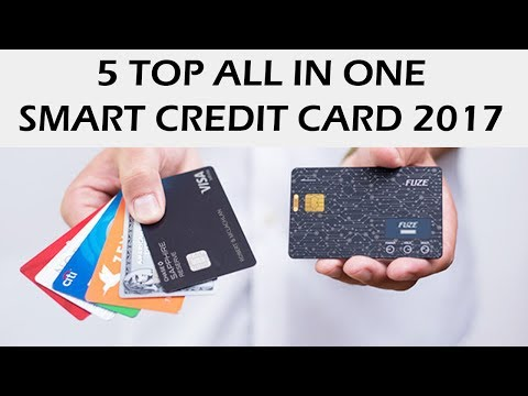 Top 5 all in one credit card 2017 | Your Whole Wallet in One Card Secure | future of payments | 5D