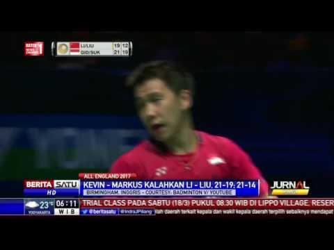 Ganda Putra Indonesia Juara All England 2017