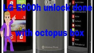 Network unlock done by octoplus lg
