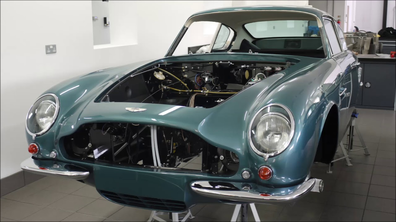 aston martin db6 mkii vantage restoration project - youtube