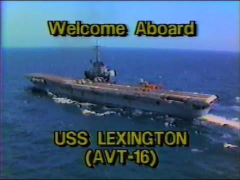 1987 USS Lexington (AVT-16) Command Presentation
