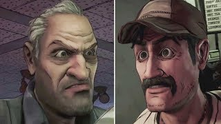 Side With Larry vs Side With Kenny -All Choices- The Walking Dead