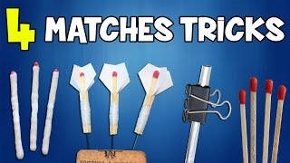 4 Things You can make with Matches | Awesome Tricks with Matches