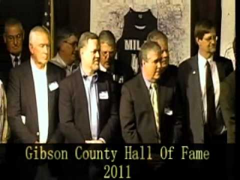 Gibson County Hall of Fame 2011