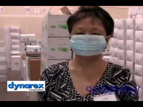 dynarex surgical face masks