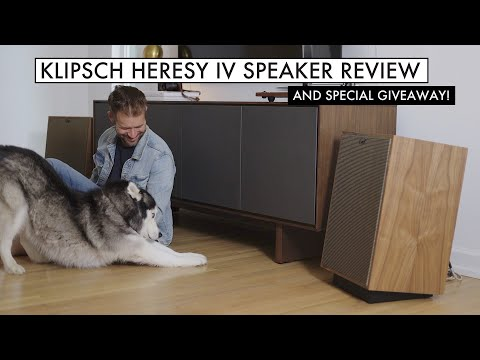 MIND BLOWN - KLIPSCH HERESY IV REVIEW & Special Giveaway