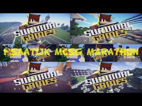 1 SAATLİK MCSG MARATHON 60DK ! (Minecraft : Survival Games #297)