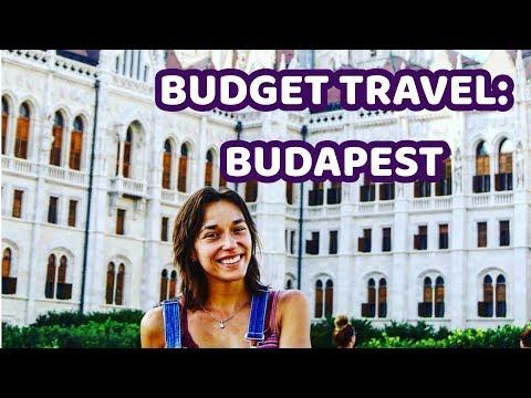 Budget Travel To Budapest!
