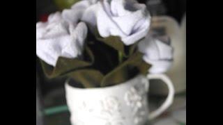 Flor de tecido passo a passo