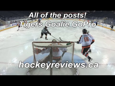 More Vaughn SLR 2 Pro Carbon Testing! Tigers Beer League Hockey Goalie GoPro