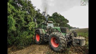 Forstfräse/ Fendt 930 Vario TMS/ Bugnot BFSP2640/ Soundmaschine [Agrarservice Braun]