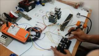 видео Радиоуправление кранами