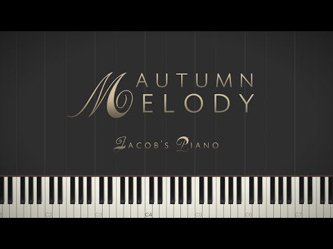 Autumn Melody - Stories Without Words II \\ Synthesia Piano Tutorial