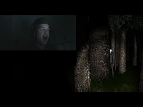 Slender - The Eight Pages: First Time Playing! Reactions and Facecam