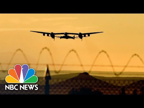 Watch Virgin Galactic Spaceplane Make Successful Test Flight | NBC News