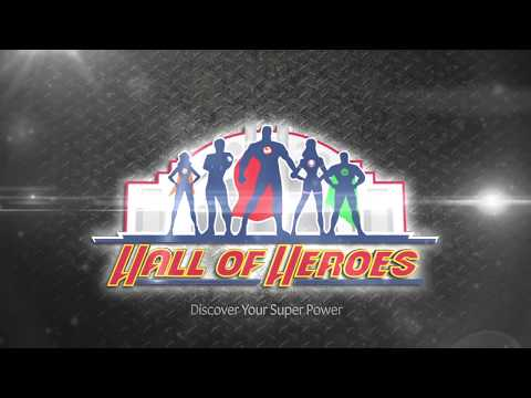 Hall of Heroes: Produced by Stage Nine Exhibitions