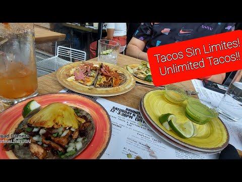 TacoVision; Unlimited #tacos Brunch review. Brunch de tacos sin limite reporte! Subscribe!