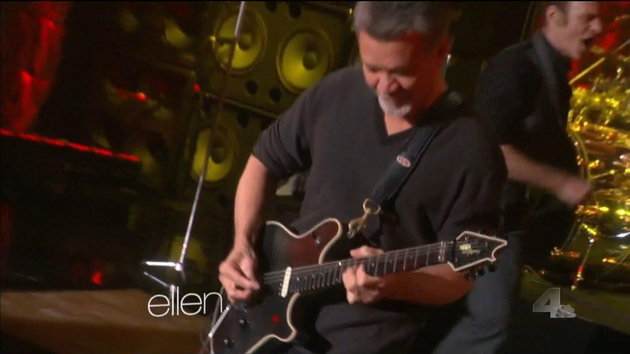 Van Halen Jump On Ellen Degeneres Youtube