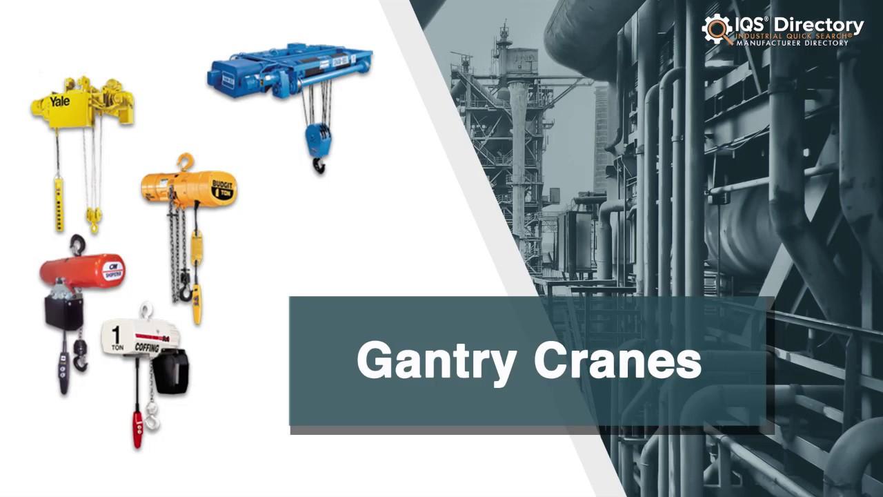 Gantry Crane Manufacturers | Gantry Crane Suppliers