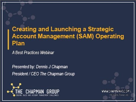 Webinar Replay - Best Practices for SAM Program Operating Pl