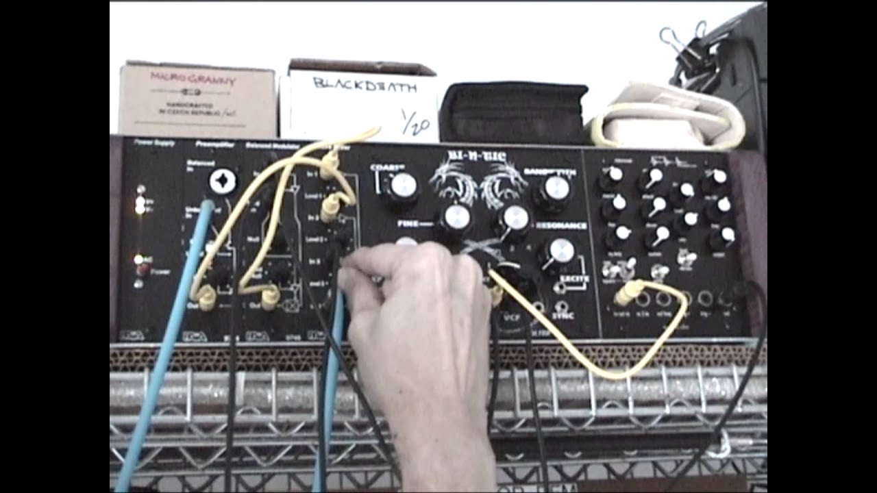 modular synth drone jam with tune in tokyo youtube. Black Bedroom Furniture Sets. Home Design Ideas