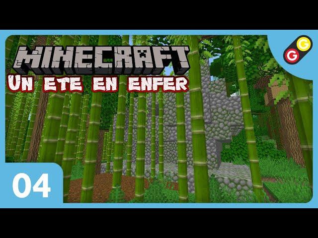 Minecraft - Un été en enfer #04 Je trouve un temple de la jungle ! [FR]