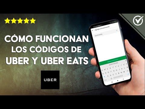 Cómo Funcionan y se usan los Códigos Promocionales de Uber y Uber Eats