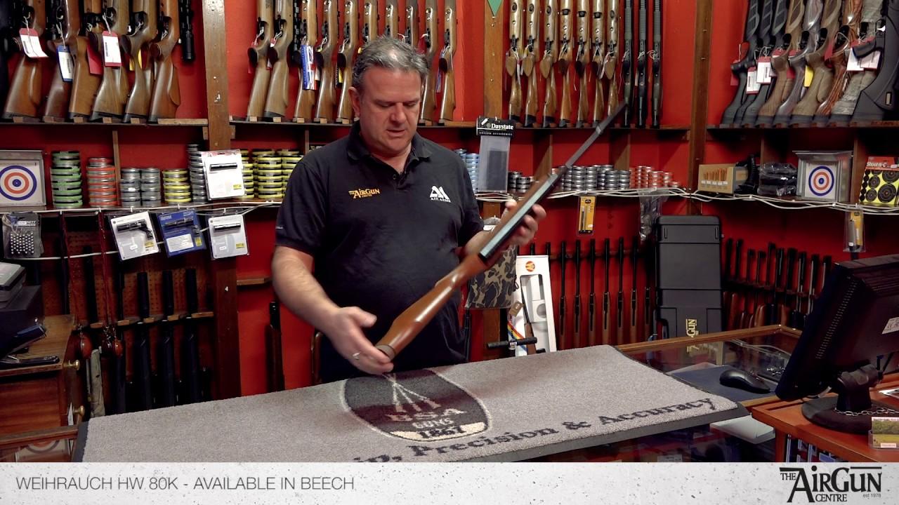 Weihrauch HW 80 K - Air Rifle Review