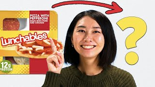 Can Rie Make Pizza Lunchables Fancy? • Tasty