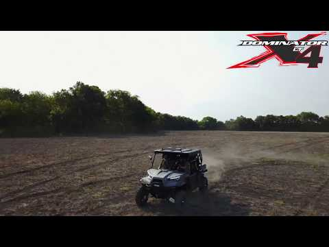 Driving the ODES Dominator X4 around the ranch!