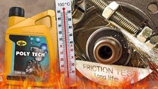 Kroon Oil Poly Tech 10W40 Jak skutecznie olej chroni silnik? 100°C