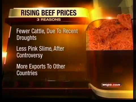 Why ground beef prices are so high