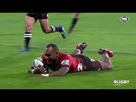 2018 Super Rugby Round 10: Crusaders vs Sunwolves