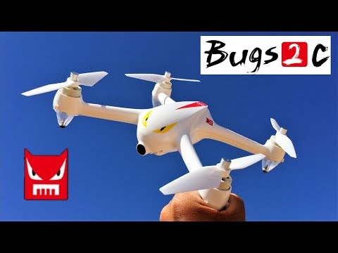 MJX Bugs 2 B2C Brushless RC Quadcopter GPS