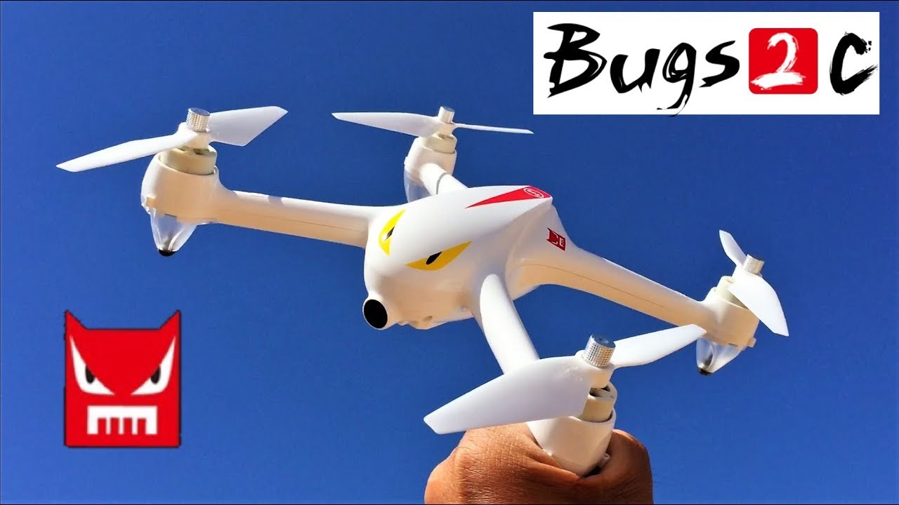 MJX Bugs 2 B2C Brushless RC Quadcopter GPS - YouTube
