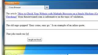 16 Cross Browser Testing
