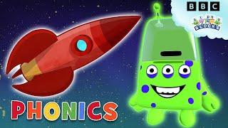 Phonics - Alien Alphabet | Learn to Read | Alphablocks