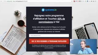 Systeme io : Comment créer un tunnel de vente grâce au Clickfunnels français