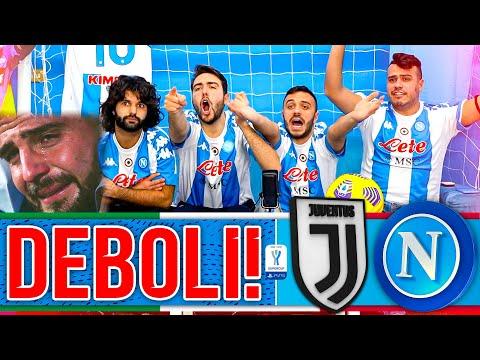 😡DEBOLI!!!! JUVENTUS 2-0 NAPOLI | FINALE SUPERCOPPA LIVE REACTION TIFOSI NAPOLETANI HD