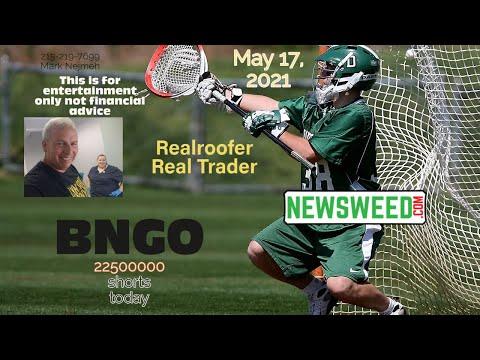 BNGO Stock - May 17, 2021 Bionano Genomics